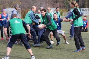 Le rugby demande un engagement total
